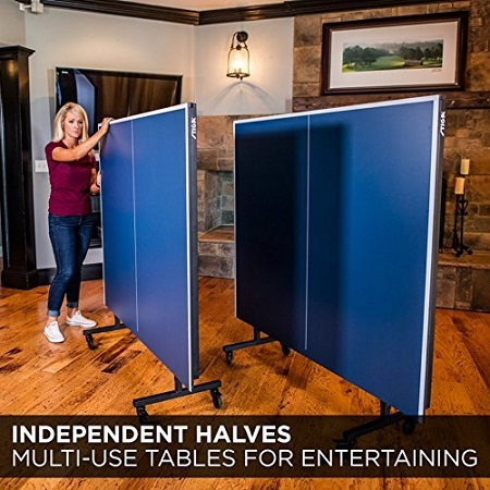 STIGA Advantage Table Tennis Table Independent Halves