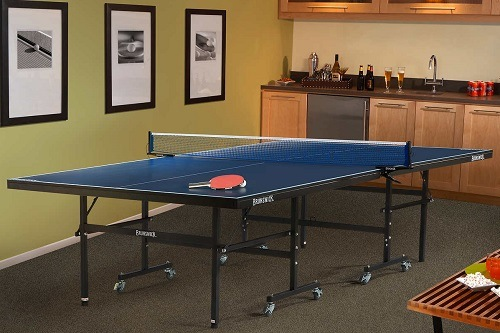 Table Tennis Table In Room