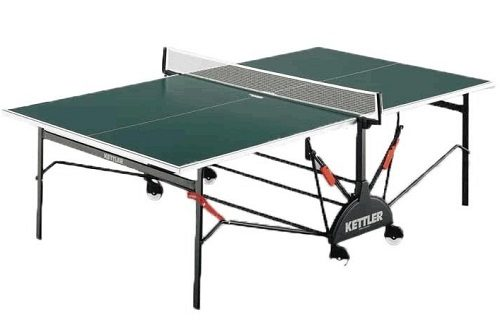 Kettler Ping Pong Table On White Background